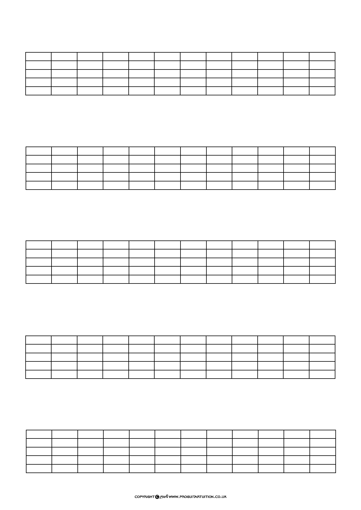 Guitar Resources Pro Guitar Tuition